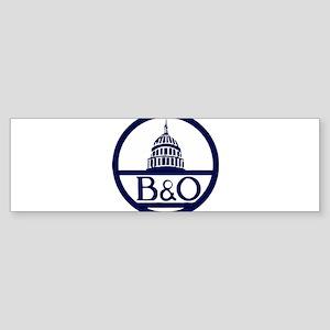 Baltimore & Ohio Railroad- Modern Bumper Sticker