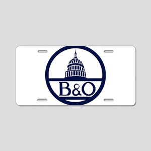 Baltimore & Ohio Railroad- Aluminum License Plate