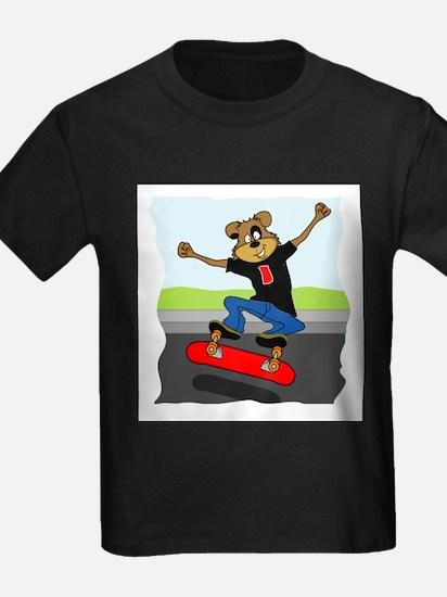 Skater Dog Kids T-Shirt
