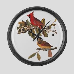 Cardinal Grosbeak Vintage Audubon Birds Large Wall