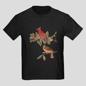 Cardinal Grosbeak Vintage Audubon Birds T-Shirt