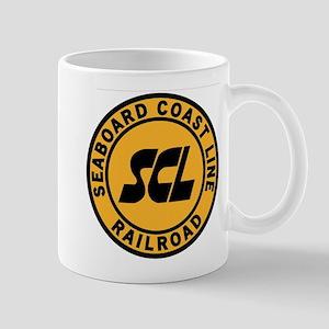 Seaboard Coast Line Railroad- Yellow Mugs