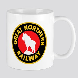 Great Northern Railway logo 4 Mugs
