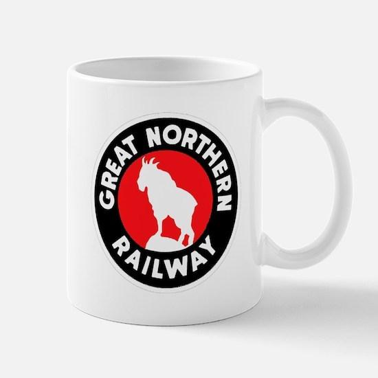 Great Northern Railway logo 3 Mugs