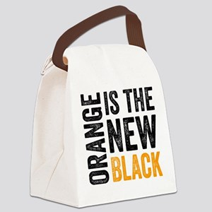 Orange Is The New Black. Crazy Ey Canvas Lunch Bag