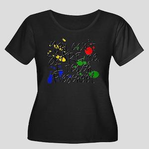 Preschool Scare copy Plus Size T-Shirt