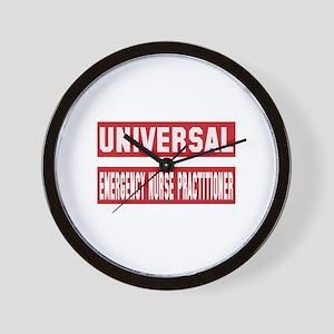 Universal Emergency Nurse Practitioner Wall Clock