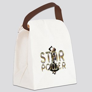 Star Power Canvas Lunch Bag