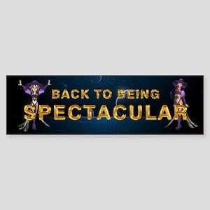 Being Spectacular Sticker (Bumper)