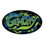 Gem City Graffiti Sticker