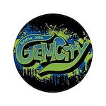 Gem City Graffiti Button