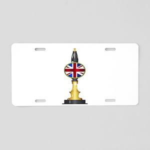 UK Flag Beer Pump Aluminum License Plate