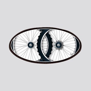 Two Bicycle Wheels Patch