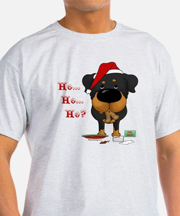 Cute Rottweiler christmas T-Shirt