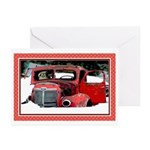 Keeshond Christmas Old T Greeting Cards (pk Of 10)