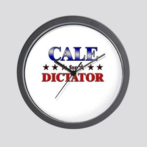 CALE for dictator Wall Clock