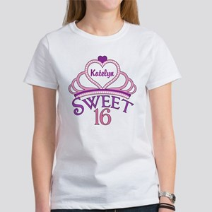 Sweet 16 Custom Women's T-Shirt