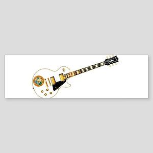Florida Flag Guitar Guitar Bumper Sticker