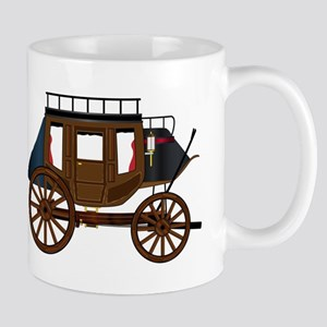 Western Stage Coach Mugs