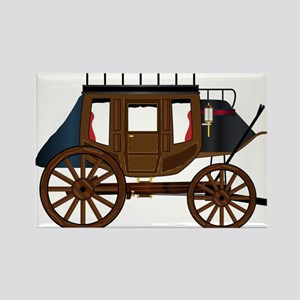 Western Stage Coach Magnets