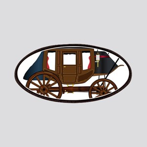 Western Stage Coach Patch