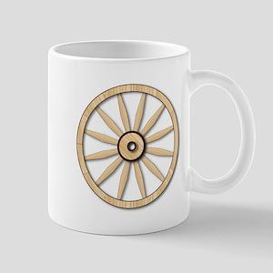 Light wagon Wheel Mugs
