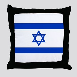 Flag of Israel Throw Pillow