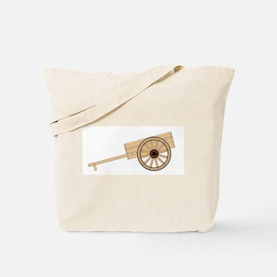 Mormon Hand Cart Tote Bag