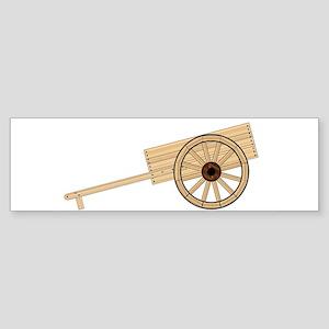 Mormon Hand Cart Bumper Sticker