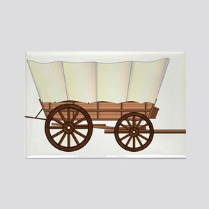 Covered Wagon Wheel Magnets