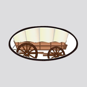 Covered Wagon Wheel Patch