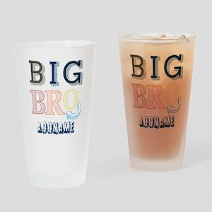 Big Brother Custom Name Drinking Glass