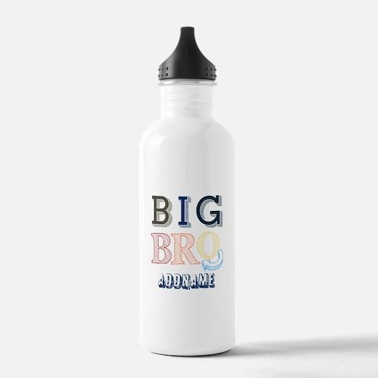 Big Brother Custom Name Water Bottle