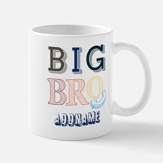 Big Brother Custom Name Mugs
