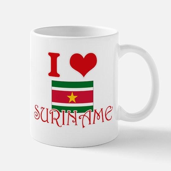 I Love Suriname Mugs