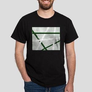 Green Criss Cross Halftone T-Shirt