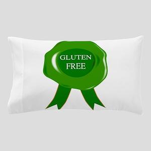 Green Gluten Free Seal Pillow Case