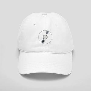 White Background Record Cap