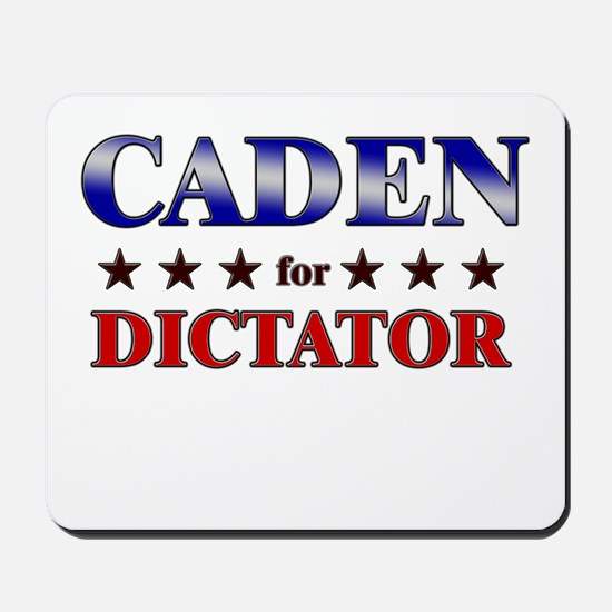 CADEN for dictator Mousepad