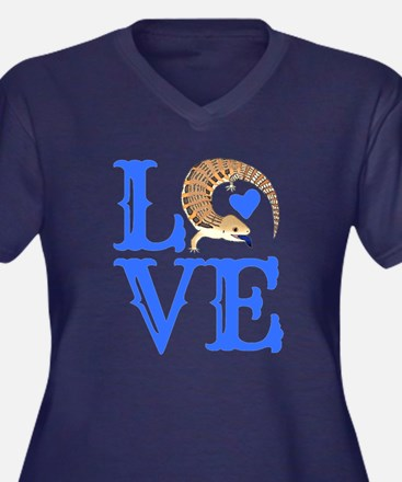 Love Blue Tongued Skink Plus Size T-Shirt