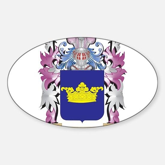 Van-Der Coat of Arms - Family Crest Decal