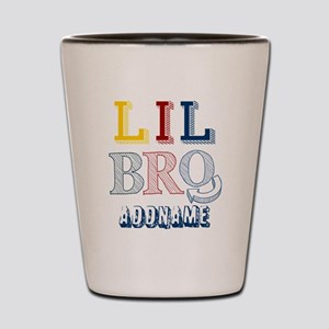 Little Brother Personalized Sketcy Shot Glass