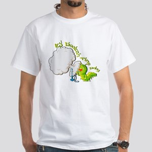 Hookah Time Baby by theVapeGoat White T-Shirt