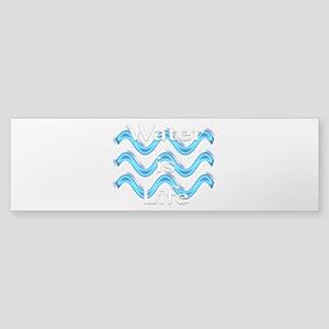Water Is Life Sticker (Bumper)