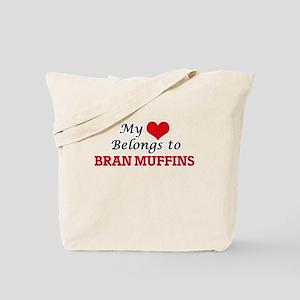 My Heart Belongs to Bran Muffins Tote Bag