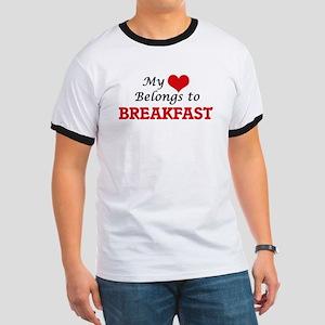 My Heart Belongs to Breakfast T-Shirt