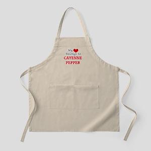 My Heart Belongs to Cayenne Pepper Apron
