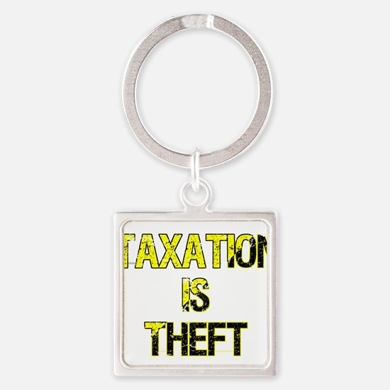 Taxation Is Theft Keychains