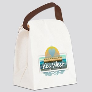 Key West Canvas Lunch Bag