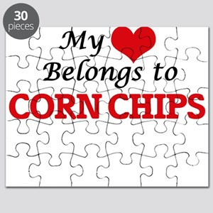 My Heart Belongs to Corn Chips Puzzle